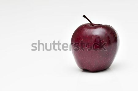 Shiny red apple in white background Stock photo © AlessandroZocc