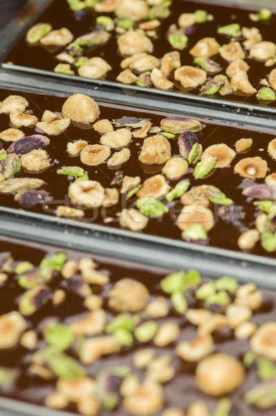 Ingrédients préparation séché fruits alimentaire Photo stock © AlessandroZocc