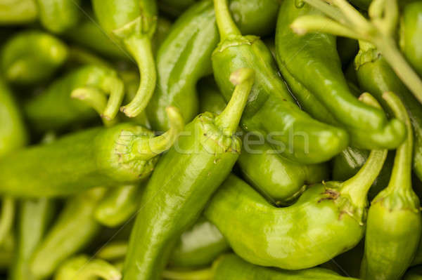 green hot pepper bunch  Stock photo © AlessandroZocc