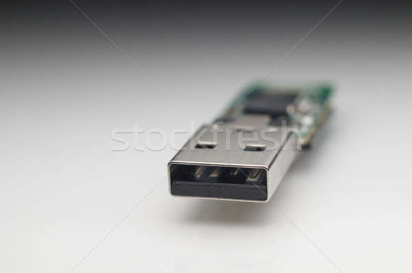 Elektronikus alkatrészek usb emlék bot számítógép Stock fotó © AlessandroZocc
