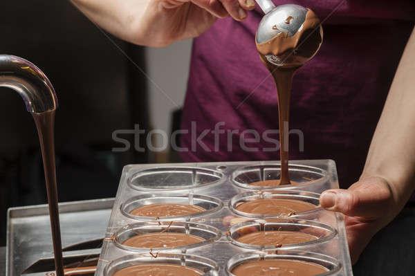 Preparazione tradizionale Pasqua ingredienti italiana latte Foto d'archivio © AlessandroZocc