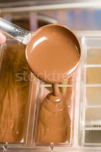 Foto d'archivio: Ingredienti · preparazione · mista · cioccolato · bar