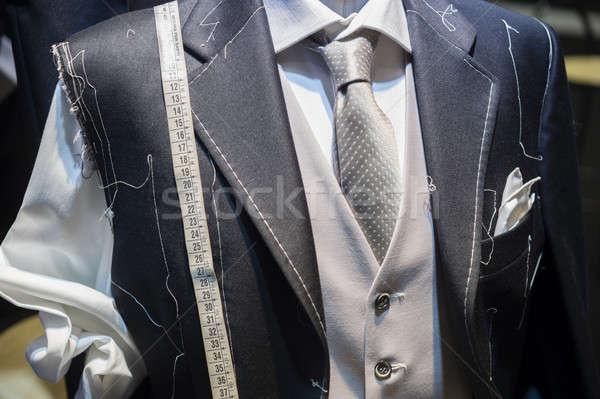 Handmade suit Stock photo © AlessandroZocc