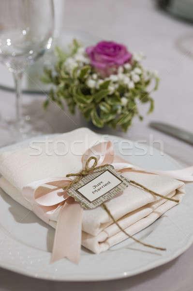 Ceremony silverware  Stock photo © AlessandroZocc