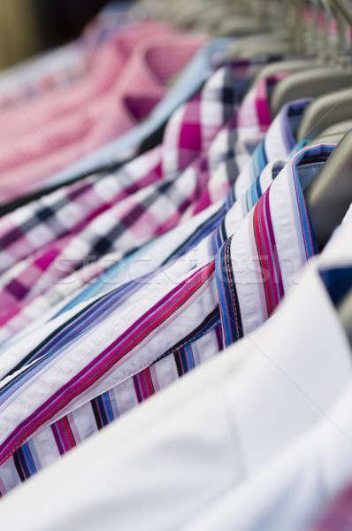 Ruw shorts zeil winkelen shirt Stockfoto © AlessandroZocc
