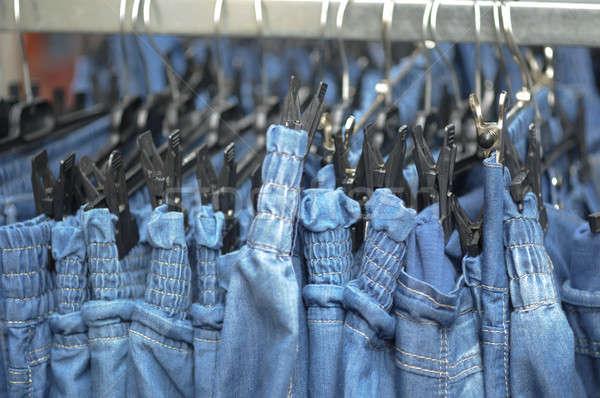 Fila jeans pantaloni vendere Foto d'archivio © AlessandroZocc