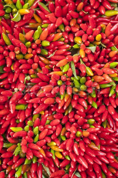 красный горячей перец отображения Сток-фото © AlessandroZocc