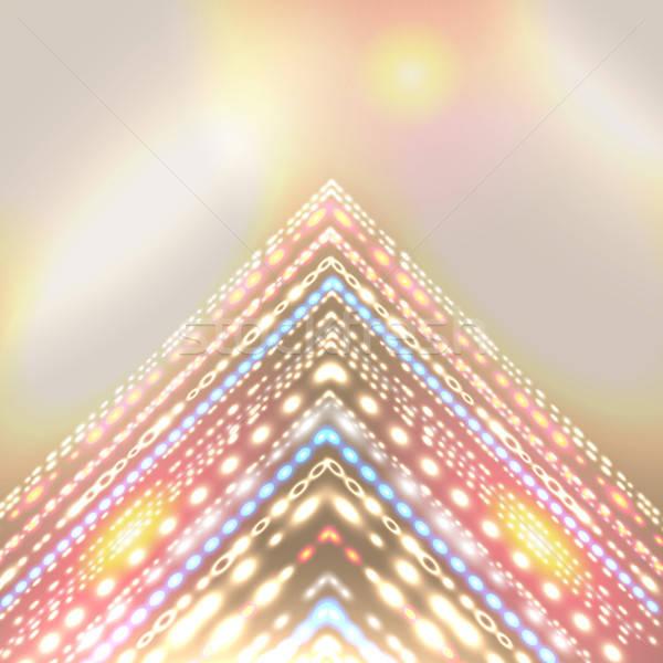休日 抽象的な デザイン 定型化された 矢印 場所 ストックフォト © alevtina