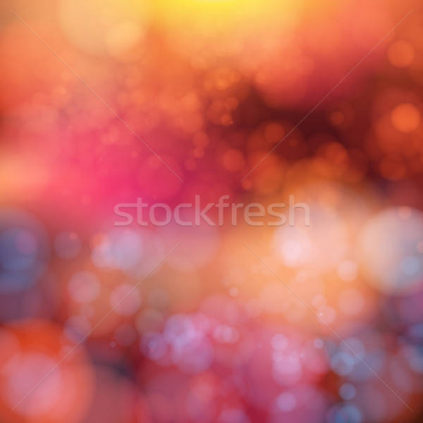 Stockfoto: Zachte · bokeh · effect · abstract · achtergrond