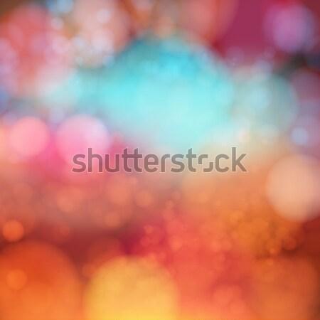 Suave bokeh efecto resumen fondo Foto stock © alevtina