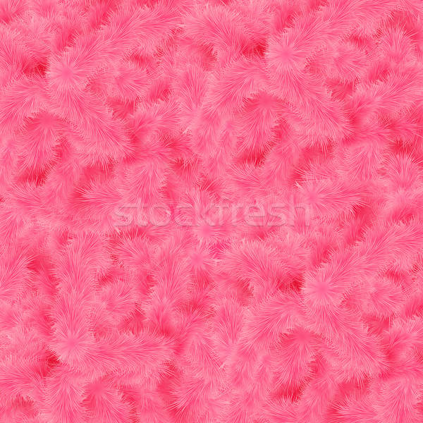 Pink fluffy background for your design stylized like fur. Stock photo © alevtina