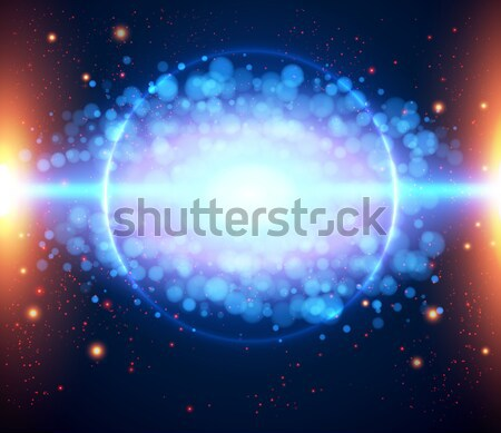 Abstract cosmic light background eps 10.  Stock photo © alevtina
