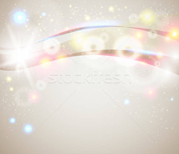 Bright and sparkling background for your presentation.  Stock photo © alevtina