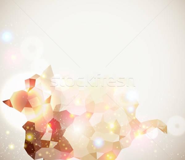 Foto d'archivio: Luminoso · frizzante · pagina · layout · presentazione · abstract