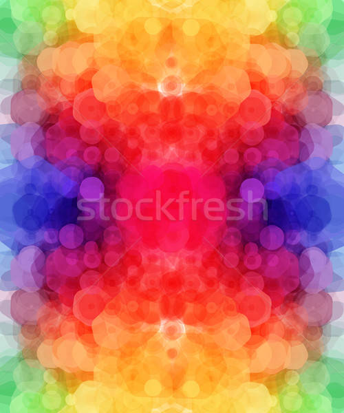Bright hexagonal pattern for Your design. Vector illustration.  Stock photo © alevtina