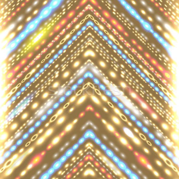 幾何学的な 定型化された 矢印 パーティ ストックフォト © alevtina