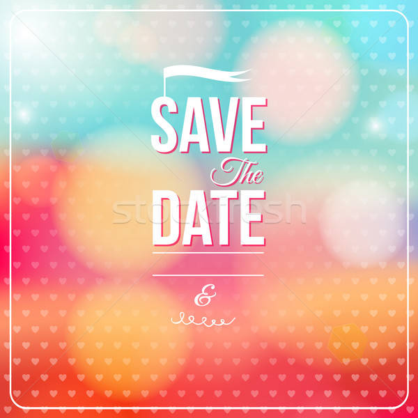 Save the date for personal holiday.  Stock photo © alevtina