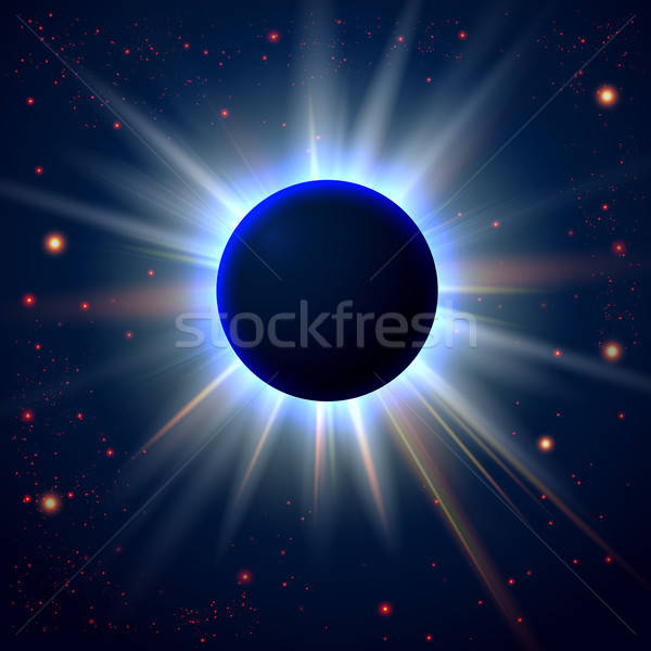 Abstract cosmic background with place for Your text Stock photo © alevtina