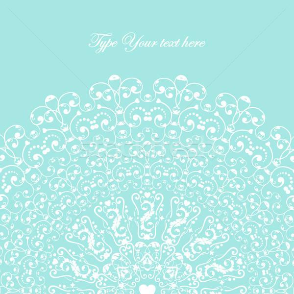 エレガントな カード デザイン ベクトル 画像 春 ストックフォト © alevtina