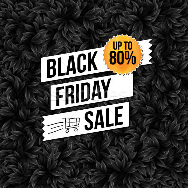 Photo stock: Black · friday · vente · affaires · affiche · Shopping · signe
