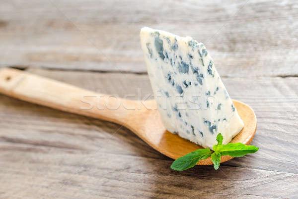 Formaggio tipo gorgonzola blu gruppo formaggio studio bordo Foto d'archivio © Alex9500