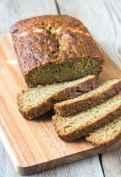 Foto stock: Abobrinha · pão · conselho · sobremesa · férias