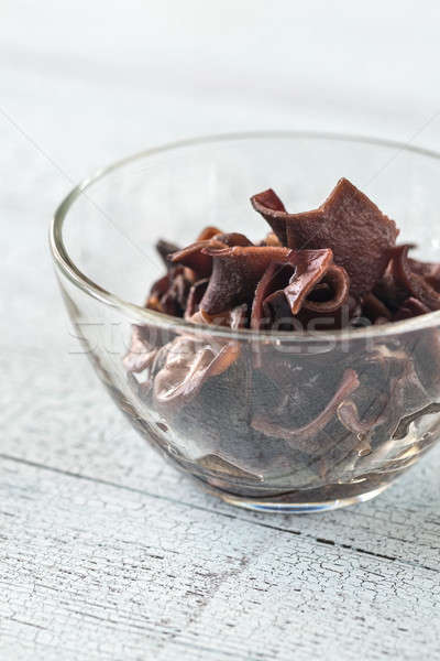 Bowl of jelly ear fungus Stock photo © Alex9500