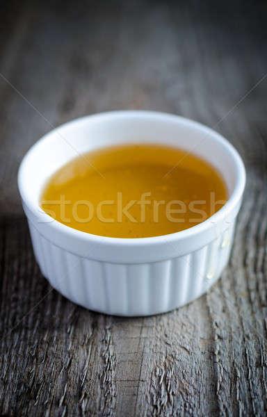 Bowl with honey Stock photo © Alex9500