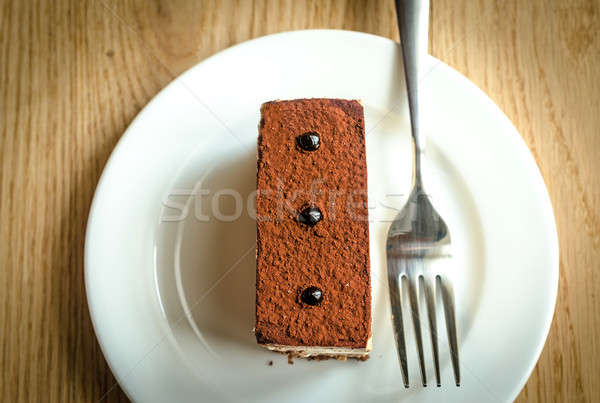 Triple Chocolate Mousse Cake Stock photo © Alex9500