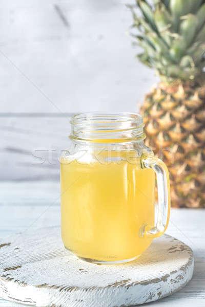 стекла ананаса сока пить совета жидкость Сток-фото © Alex9500