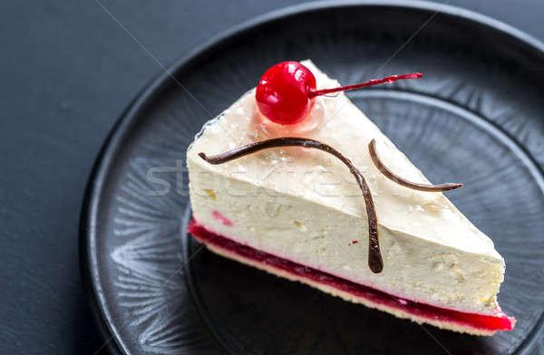 малиной чизкейк Sweet Вишневое шоколадом торт Сток-фото © Alex9500