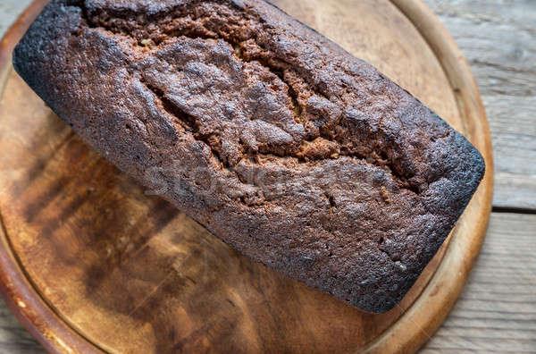 буханка хлеб шоколадом завтрак студию совета Сток-фото © Alex9500