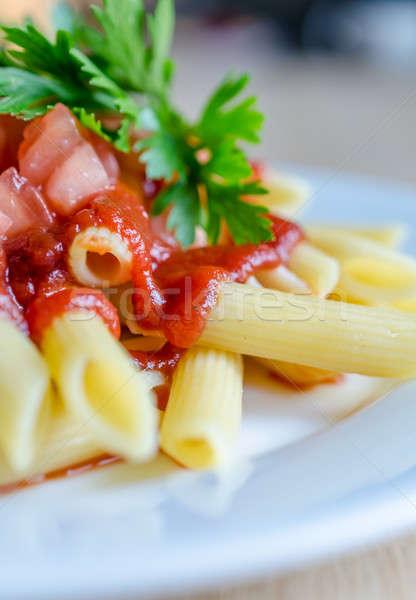 Macaroni pasta Stockfoto © Alex9500