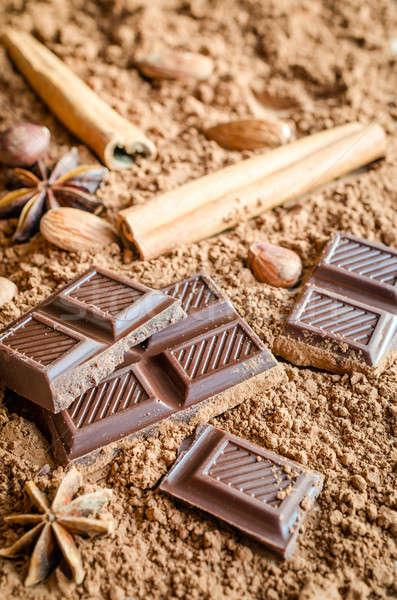 Chocolate still life Stock photo © Alex9500