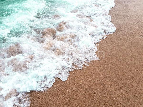 Okyanus dalgası su manzara deniz mavi Stok fotoğraf © Alex9500