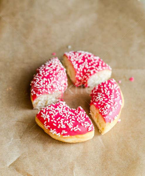 Sliced donut Stock photo © Alex9500
