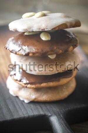 Foto d'archivio: Pan · di · zenzero · cookies · alimentare · torta · gruppo