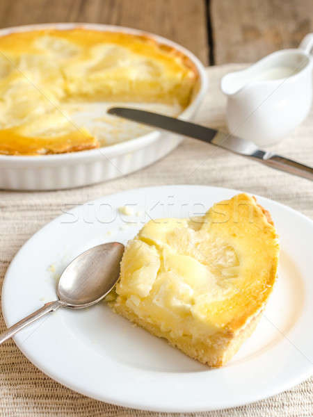 Pineapple cheesecake Stock photo © Alex9500