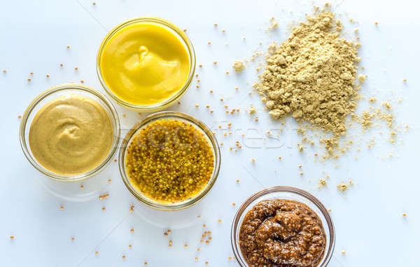 Different kinds of mustard Stock photo © Alex9500
