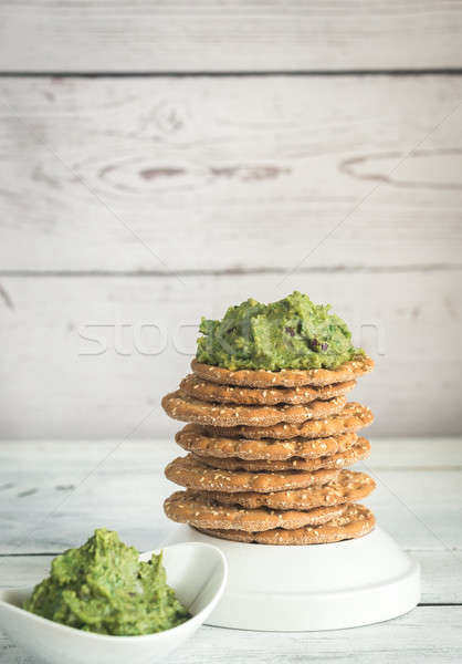 Sésamo alimentos fondo de oliva cal torre Foto stock © Alex9500