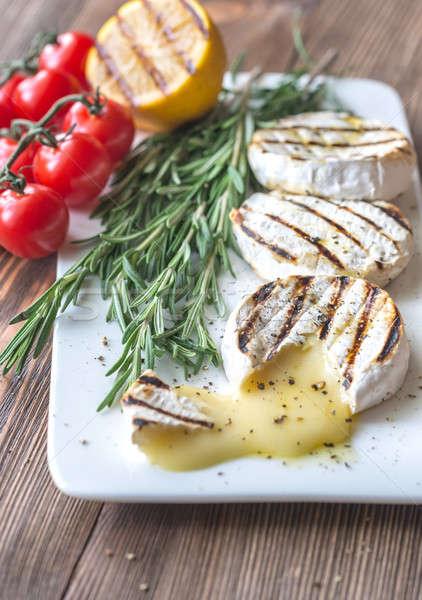 гриль камамбер сыра помидоры черри лимона Сток-фото © Alex9500