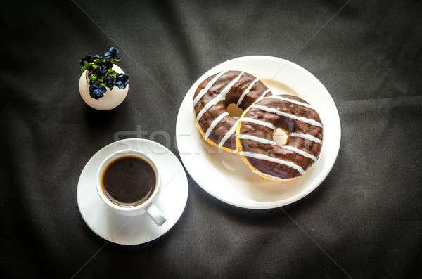 Foto d'archivio: Cioccolato · Cup · caffè · fiore · alimentare