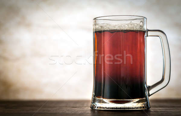 Black and Tan beer cocktail Stock photo © Alex9500