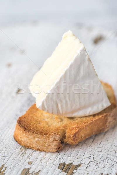 Tostato pane camembert formaggio tavola colazione Foto d'archivio © Alex9500