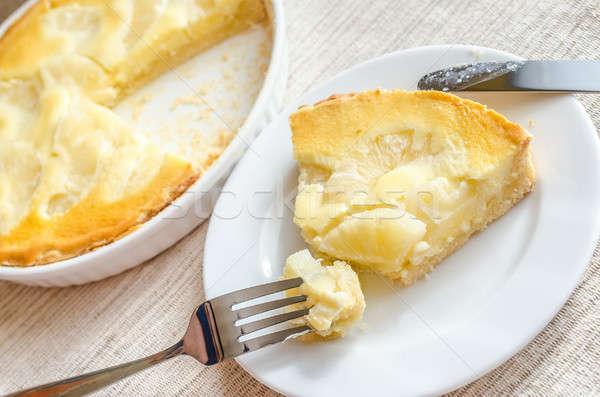 Pineapple cheesecake Stock photo © Alex9500