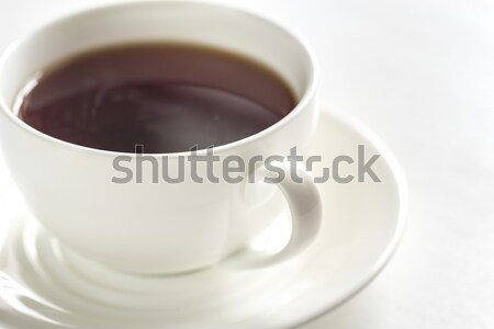Cup of tea on the white background Stock photo © Alex9500