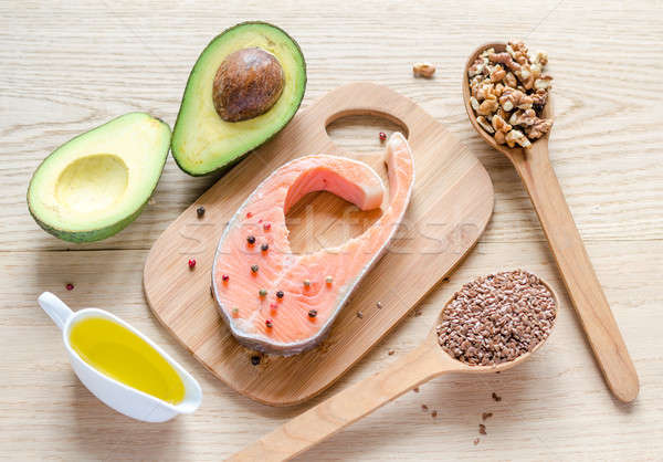 Food with unsaturated fats Stock photo © Alex9500