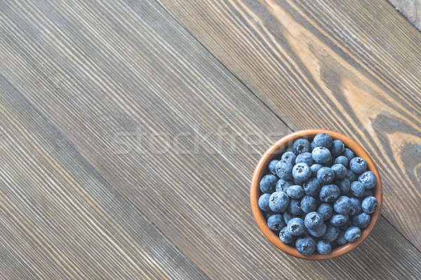 Bowl of blueberries Stock photo © Alex9500