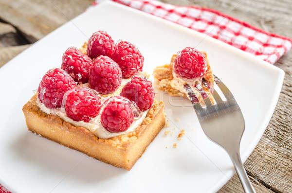 Raspberry cake Stock photo © Alex9500