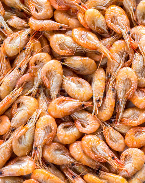 Fresh Shrimps Stock photo © Alex9500